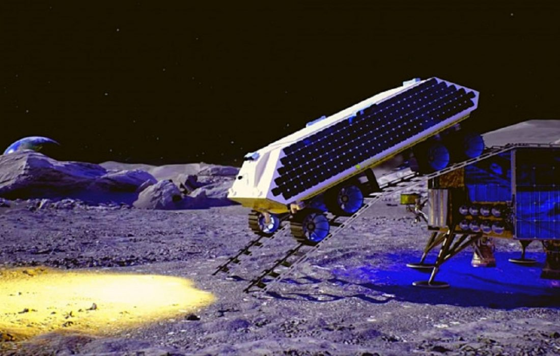 حفر سطح ماه برای رسیدن به آب