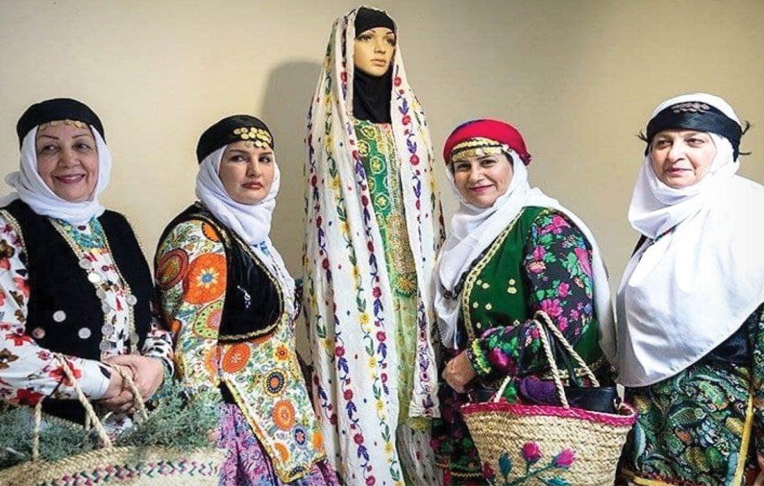 اصالت و زیبایی در پوشش اقوام ایرانی