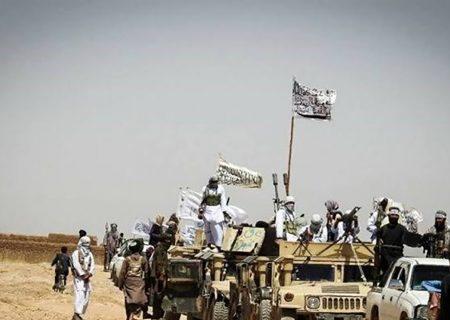 رژه طالبان با تسلیحات به جا مانده آمریکایی + فیلم